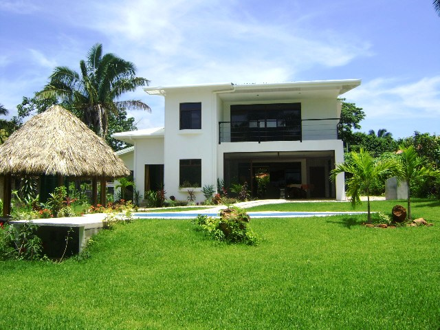 Costa rica ocean view home for rent in tambor for Costa rica house rental with chef